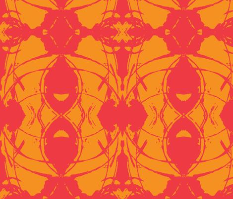 ET Vibrant fabric by desiloopbyssk on Spoonflower - custom fabric