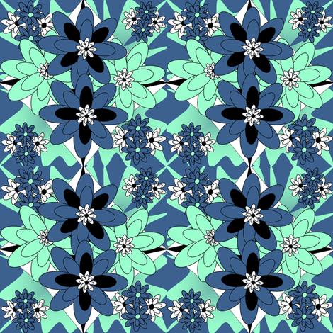Beautiful Victorian Flowers Fabric #5 fabric by lworiginals on Spoonflower - custom fabric