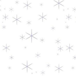 Sparkle-Lavender/White