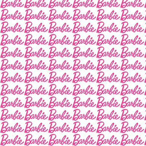 Barbie Fabric Wallpaper Gift Wrap Spoonflower