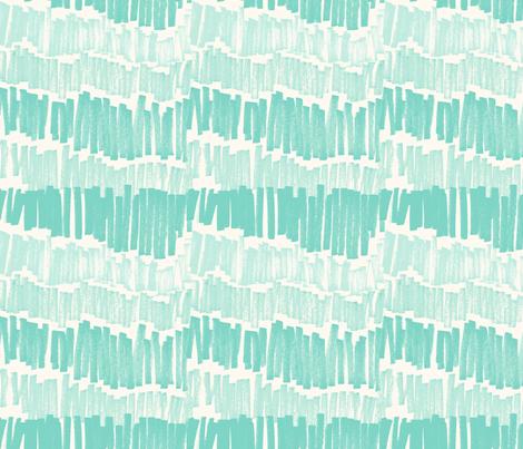 marker_Stripe_Mint fabric by crystal_walen on Spoonflower - custom fabric