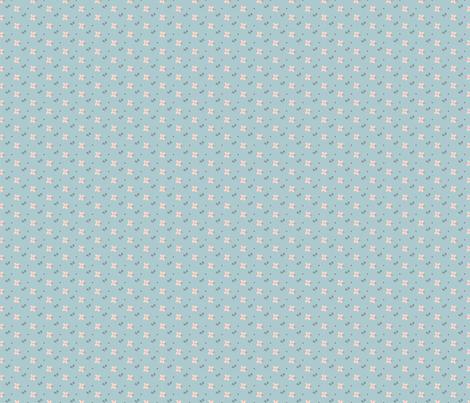 Petite_Pinks fabric by gilly_flower_studio on Spoonflower - custom fabric