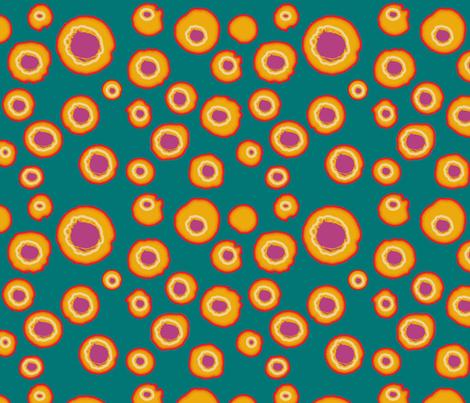 blob_teal fabric by bbusbyarts on Spoonflower - custom fabric
