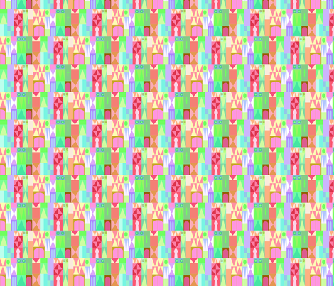 smallworldpattern fabric by kdh_miller on Spoonflower - custom fabric