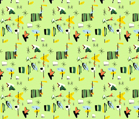 Come to Papa fabric by aunteak on Spoonflower - custom fabric