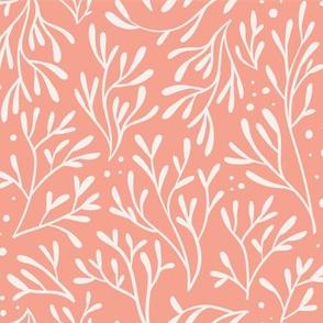 Coral Leaf (Pink)