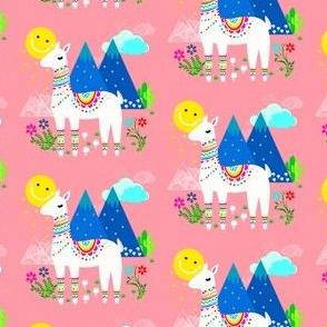 Llama in Pink