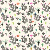 Cactus_BW_color