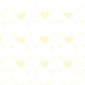 Yellow_Heart_White_Background_Arrow