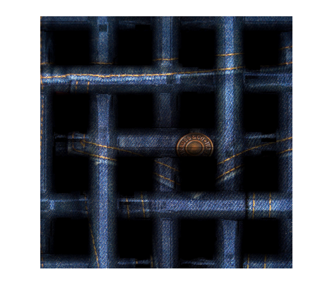 Denim Lattice fabric by higmeister on Spoonflower - custom fabric
