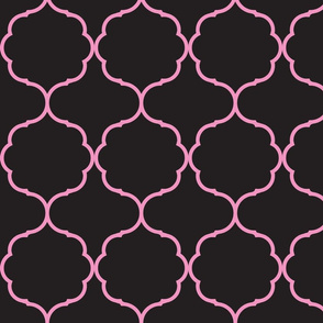 Hexafoil Black and Pink