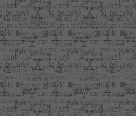The Fabric is Out There - Medium fabric by designedbygeeks on Spoonflower - custom fabric