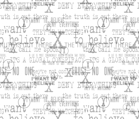 The Fabric is Out There - Large fabric by designedbygeeks on Spoonflower - custom fabric