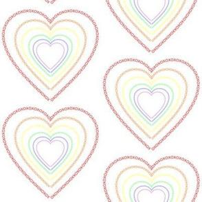 Heart Frame XOX