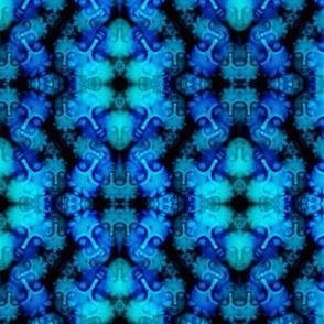 Blue Buddha Kaleidoscope