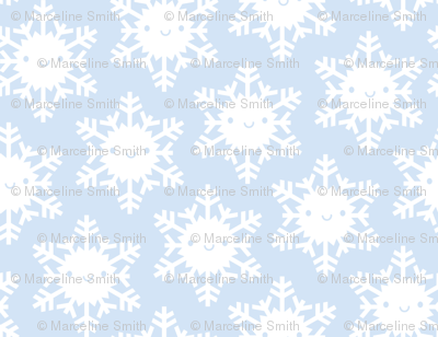 Kawaii Winter Snowflakes