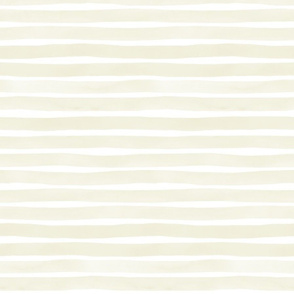 Tan Watercolor Stripes by Friztin