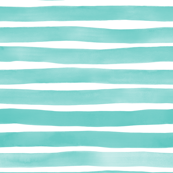 Blue Watercolor Stripes by Friztin