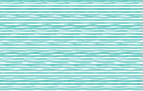 Watercolor Stripes M+M Aqua by Friztin fabric by friztin on Spoonflower - custom fabric