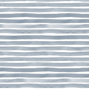 Smoke Watercolor Stripes by Friztin