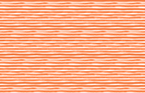 Orange Watercolor Stripes by Friztin fabric by friztin on Spoonflower - custom fabric