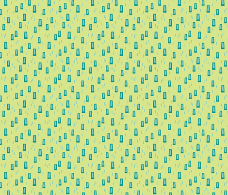 Hip Trapezoids (Ocean)  fabric by brendazapotosky on Spoonflower - custom fabric