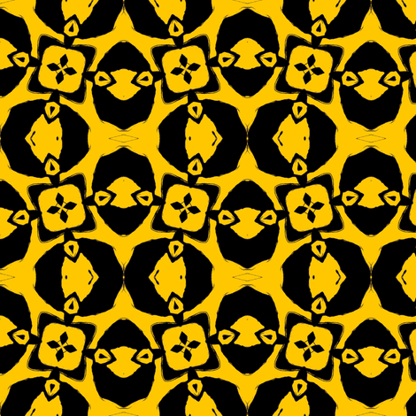 Invisible Madman: Whacky Wonks in Yellow fabric by ginascustomcreations on Spoonflower - custom fabric