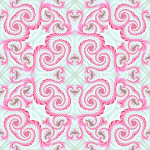 Strawberry Whipped Cream Swirls