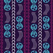 Modern Movement in Purple Blues
