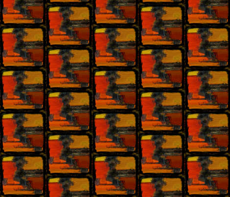 Autumn squares fabric by hollywood_royalty on Spoonflower - custom fabric