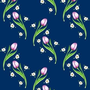 Daisy & the Pink tulip