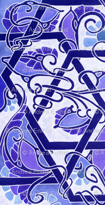 Boldly Twisting Blues