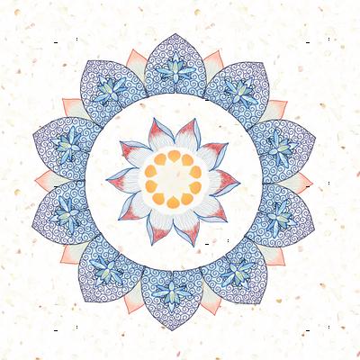 tiki lotus flower