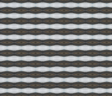 Sliced Earth and Sky - Horizontal Stripe (Ref. 3794) fabric by rhondadesigns on Spoonflower - custom fabric