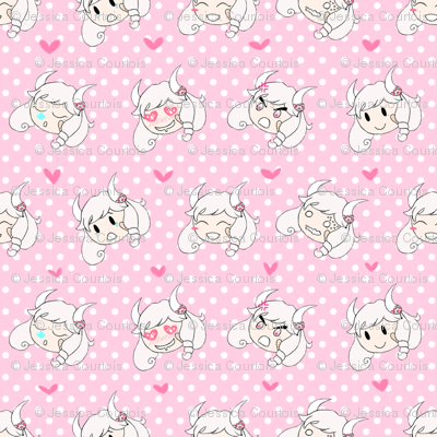 flashmoji -- pink