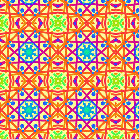 ColorPlay: Could You Call It Plaid? fabric by tallulahdahling on Spoonflower - custom fabric