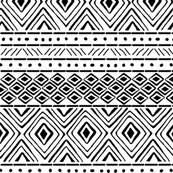 Tribal Mud Cloth  No. 1