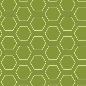 Olive Hexagons