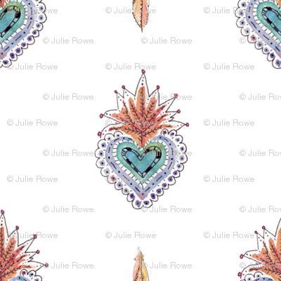 Watercolor corazon