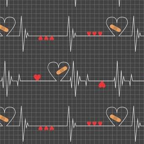 Heart Health Awareness - Black
