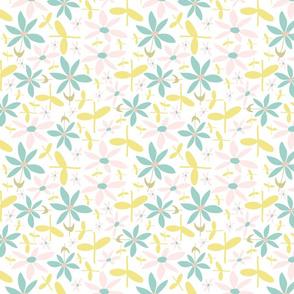 Soft Floral Maze
