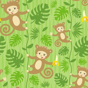 Year Of The Jungle Monkey
