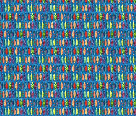 blue crush fabric by karalynshaw on Spoonflower - custom fabric