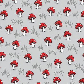 Happy Mushrooms