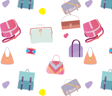 Fashion Bags fabric by albaserna on Spoonflower - custom fabric