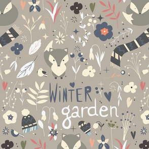 Winter garden pattern 002