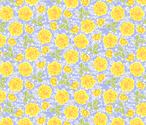 YellowRoseLace fabric by blairfully_made on Spoonflower - custom fabric