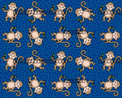 Monkey_Polka_Dot_Blue_Scheme