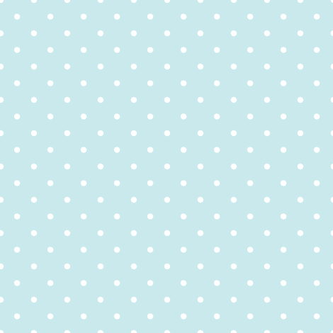 Polka Dots Blue on White Background fabric by shopcabin on Spoonflower - custom fabric