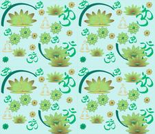 Yoga Oms for Serenity - Synergy0004.  fabric by gargoylesentry on Spoonflower - custom fabric